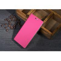 PU kožené pouzdro na Lenovo Vibe X2 - rose