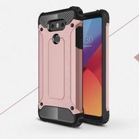 Armory odolný obal na mobil LG G6 - růžovozlatý