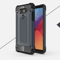 Armory odolný obal na mobil LG G6 - šedomodrý