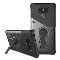 Defender odolný obal na mobil LG G6 - šedý
