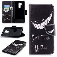 Emotive peněženkové pouzdro na mobil LG G7 ThinQ - nesahat