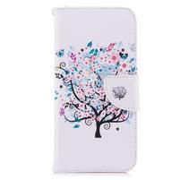 Emotive peněženkové pouzdro na mobil LG G7 ThinQ - strom