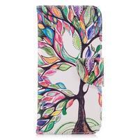 Emotive peněženkové pouzdro na mobil LG G7 ThinQ - malovaný strom
