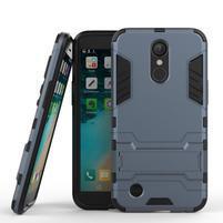 Defender odolný obal na mobil LG K10 (2017) - šedomodrý