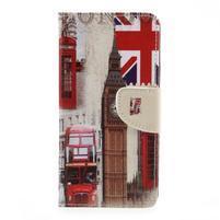 Funs peněženkové pouzdro na LG K10 (2017) - London