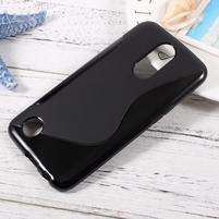 Sline gelový obal na mobil LG K10 (2017) - černý