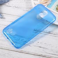 Sline gelový obal na mobil LG K10 (2017) - modrý