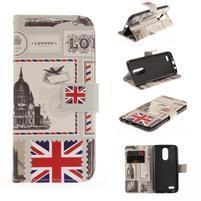 Niceses peněženkové pouzdro na mobil LG K4 (2017) - London