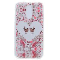 Cases gelový obal na mobil LG K4 (2017) - ptáčci