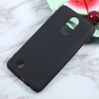 Matts gelový obal na mobil LG K4 (2017) - černý