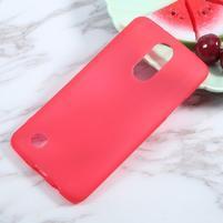 Matts gelový obal na mobil LG K4 (2017) - červený
