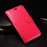 Wallet PU kožené zapínací pouzdro na LG Nexus 5X - rose