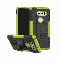 Outdoor odolný obal na LG V30 - zelený