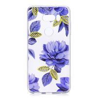 Patty gelový obal na LG V30 - modré květy