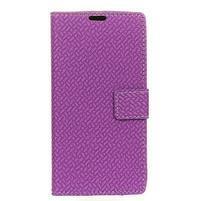 Cross Pu kožené pouzdro na mobil LG X Power 2 - fialové