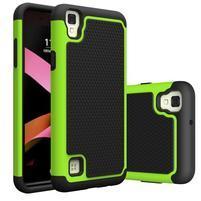GT hybridní odolný obal na mobil LG X Style - zelený