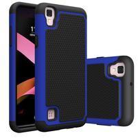 GT hybridní odolný obal na mobil LG X Style - modrý