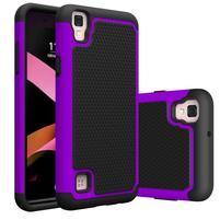 GT hybridní odolný obal na mobil LG X Style - fialový