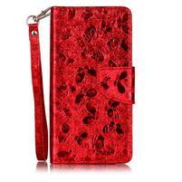 LuxButterfly knížkové pouzdro na LG X Style - červené