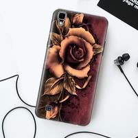 True gelový obal pro mobil LG X Style - růže