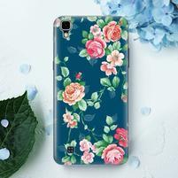 True gelový obal pro mobil LG X Style - květiny