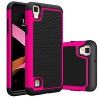 GT hybridní odolný obal na mobil LG X Style - rose