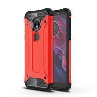 Armory hybridní odolný kryt na Motorola Moto E5 a G6 Play - červený