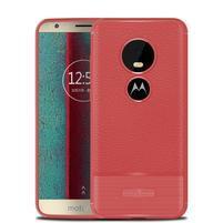 Litch odolný gelový kryt pro Motorola Moto E5 Play - červený