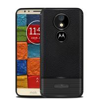 Litcher odolný silikonový obal pro Motorola Moto E5 Plus - černý