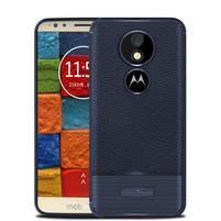 Litcher odolný silikonový obal pro Motorola Moto E5 Plus - modrý
