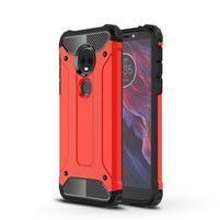 Armory odolný hybridní obal pro Motorola Moto E5 Plus - červený