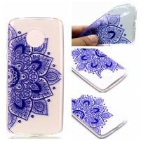 Emotive gelový obal na mobil Motorola Moto G6 Play - henna