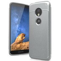 IVS odolný gelový obal na mobil Motorola Moto G6 Play - šedý