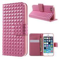 Cool Style pouzdro na iPhone 5 a iPhone 5s - růžové