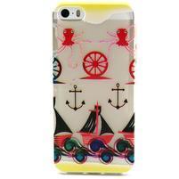 Fun gelový obal na iPhone 5s a iPhone 5 - kotva