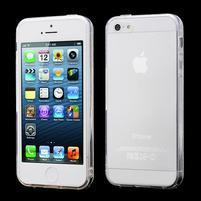 Transparentní gelový obal na iPhone 5/5s