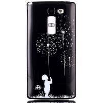 Soft gélové puzdro pre LG G4c - chlapček a púpavy