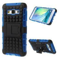 Outdoor odolný kryt na mobil Samsung Galaxy A3 - modrý