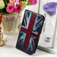 Pouzdro na mobil Samsung Galaxy Core Prime - UK vlajka
