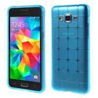 Square gelový obal na Samsung Galaxy Grand Prime - modré