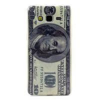 Gelový kryt na Samsung Grand Prime - bankovka