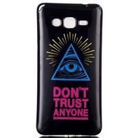 Jelly gelový obal na mobil Samsung Galaxy Grand Prime - oko