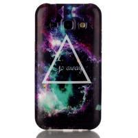Gelový obal na mobil Samsung Galaxy J5 - triangle