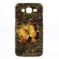 Gelový obal na mobil Samsung Galaxy J5 - motýlek