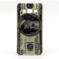 Stylový gelový kryt na Samsung Galaxy J5 - bankovnka 100 $