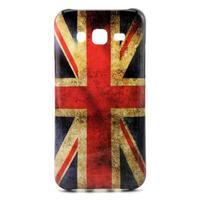 Stylový gelový kryt na Samsung Galaxy J5 - UK vlajka