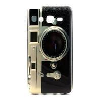 Stylový gelový kryt na Samsung Galaxy J5 - retro foťák