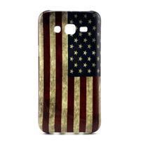 Stylový gelový kryt na Samsung Galaxy J5 - US vlajka