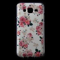 Gelové pouzdro na mobil pro Samsung Galaxy J5 - květiny