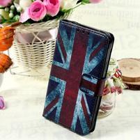 Stylové peněženkové pouzdro pro Samsung Galaxy Xcover 3 - UK vlajka